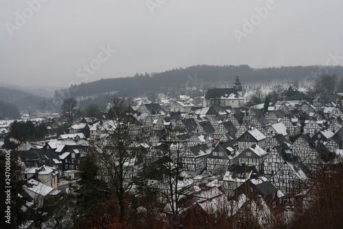 Panorama Scenic view of Freudenberg near Cologne - 247008606
