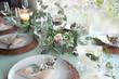 Leinwandbild Motiv Festive event table decoration