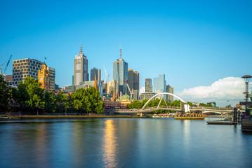 Melbourne city business district (CBD), Australia © Richie Chan