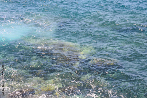 Blue Water Texture