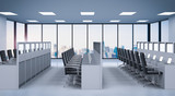 office cubicle or workspace - 247107067
