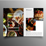 Business brochure template for annual report - 247109834