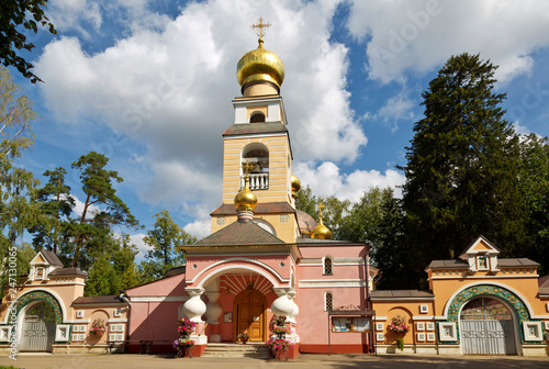 Church of the Savior of the Transfiguration in Peredelkino. Moscow, Russia