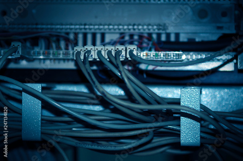 Groovy Network Wires In The Server Rack Buy Photos Ap Images Detailview Wiring Digital Resources Funapmognl