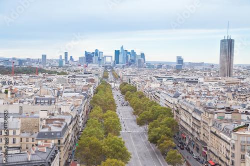 Paris- Vue aérienne - 247138623