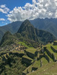 Archaeological  site Machu Picchu landscape