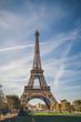 Eiffel Tower, symbol of Paris, France. Paris Best Destinations in Europe