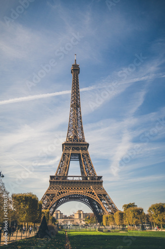 Eiffel Tower, symbol of Paris, France. Paris Best Destinations in Europe - 247151835
