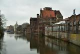 Szczecin - view of Szczecin's Venice, from Jaskółcza island.