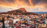 Alicante - Spain at sunset - 247173812