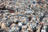 Aerial view of Athens as seen from Lycabettus hill, Athens historic center, Attica, Greece - 247174477