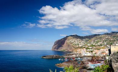 Cliff on Madeira island © Viktor