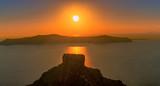 Sonnenuntergang über Santorin, Griechenlands herrlichster Insel
