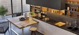 Modern luxury kitchen interior design - 247199670