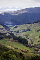 View from Hawkes Lookout, Nelson, New Zealand. © Molly