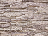 it is horizontal modern brick wall for pattern and background