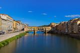 Bridge Ponte Vecchio in Florence - Italy - 247296293