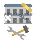 アパートの修理 - 247298046