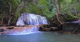 Tropical waterfall in wild nature environment - 247304464