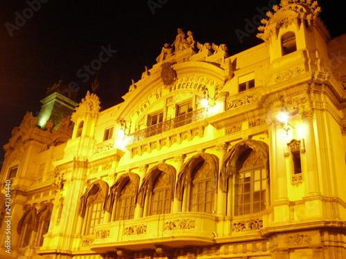 fototapeta na ścianę Giallo di notte