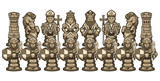Chess Cartoon Figures White