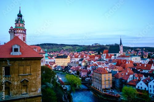 fototapeta na ścianę Panorama of Český Krumlov, Czech Republic