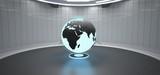 Globe Futuristic Room - 247332807