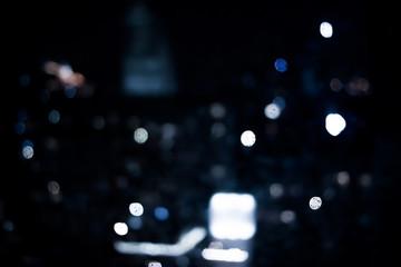 Big city comes alive at night