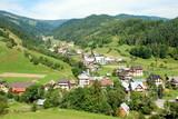 wioska w górach
