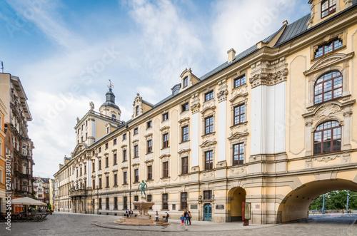 fototapeta na ścianę Uniwersytet Wrocławski - Wrocław