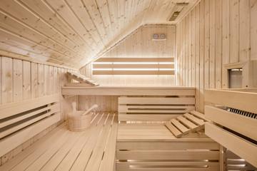 Sauna in the attic © Dariusz Jarzabek
