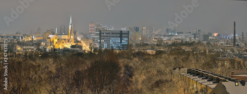 The city of Lodz, Poland - 247431875