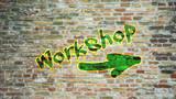 Schild 396 - Workshop
