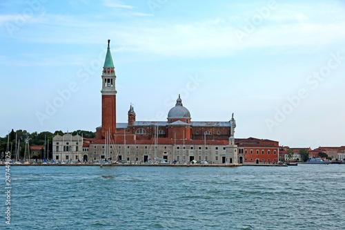 Venice Italy of Saint George also called San Giorgio Maggiore in