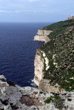 Dingli Cliffs, im Hintergrund die Radastation - 247456875