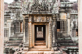 Temple doorway at Siem Reap Park Cambodia