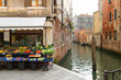 Fruit stand Venice Italy