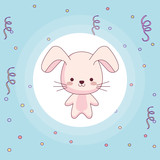 cute and little rabbit character - 247506605