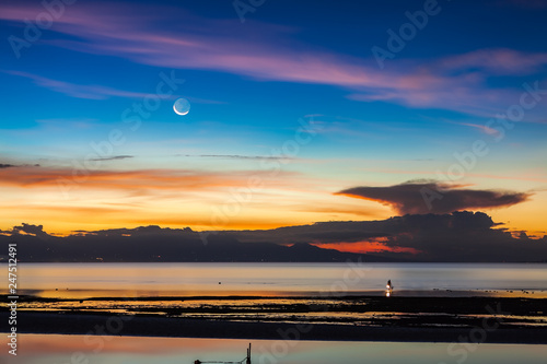 Coast of Negros - View from Siquijor Island - 247512491