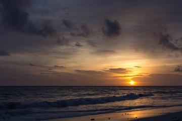 Sonnenaufgang über der Karibik, Dominikanische Republik