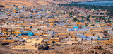 view of the panorama of the Nubian colored village. - 247520610