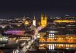 Leinwandbild Motiv Wuezburg town by night