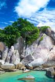 sea of beach caribbean sea - 247554075