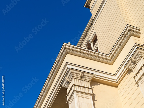 Moscow architecture - detail of old edifice