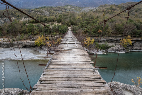 Vjosa River Albania Fall colours