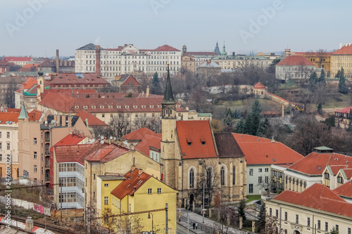 city streets of Prague from a different angle