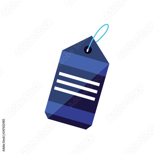 tag commercial isolated icon