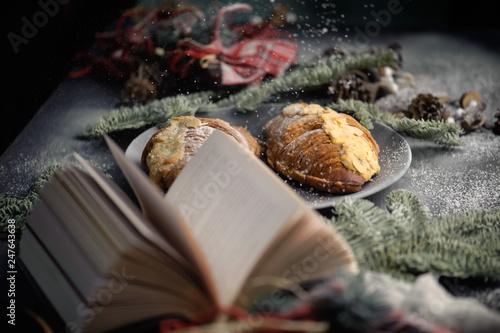 Christmas postcard © Tania Zbrodko