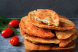 Fried meat patties. Tatar pasties. - 247652012