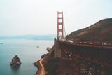 Beautiful Golden Gate view in San Francisco.